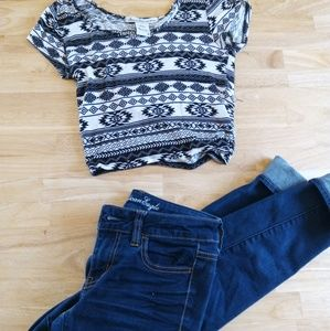 *331 American Rag Crop Top